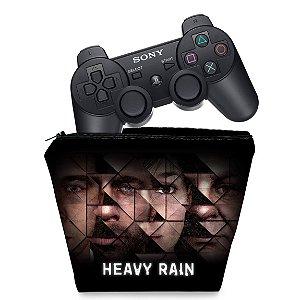 Capa PS3 Controle Case - Heavy Rain