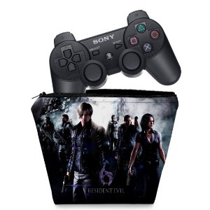 Capa PS3 Controle Case - Resident Evil 6