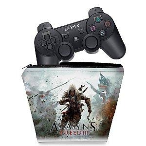 Capa PS3 Controle Case - Assassins Creed 3