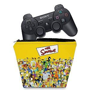Capa PS3 Controle Case - Simpsons