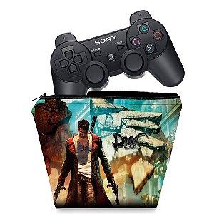 Capa PS3 Controle Case - Dmc Devil May Cry