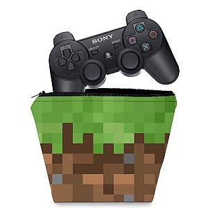 Capa PS3 Controle Case - Minecraft