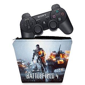 Capa PS3 Controle Case - Battlefield 4