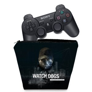 Capa PS3 Controle Case - Watch Dogs