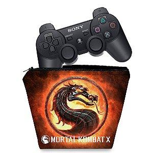Capa PS3 Controle Case - Mortal Kombat