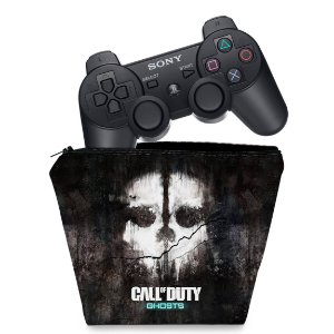 Capa PS3 Controle Case - Call Of Duty Ghosts
