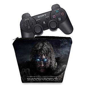 Capa PS3 Controle Case - Shadow Of Mordor