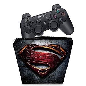 Capa PS3 Controle Case - Superman