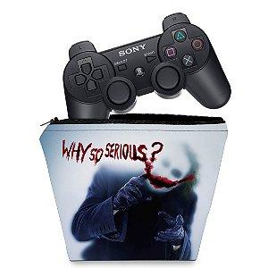 Capa PS3 Controle Case - Joker