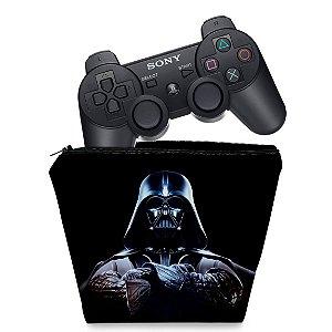 Capa PS3 Controle Case - Darth Vader