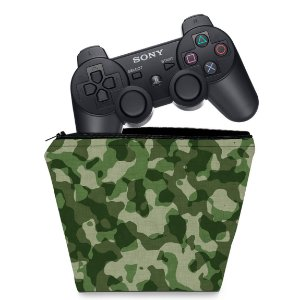 Capa PS3 Controle Case - Camuflado #b