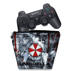 Capa PS3 Controle Case - Resident Evil