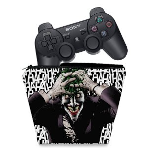 Capa PS3 Controle Case - Joker Coringa
