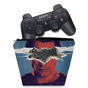 Capa PS3 Controle Case - Batman Vs Superman