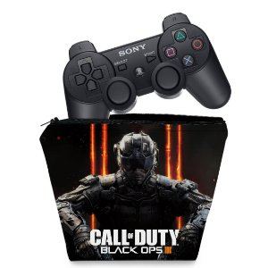 Capa PS3 Controle Case - Call Of Duty Iii