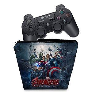 Capa PS3 Controle Case - Vingadores 2