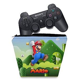 Capa PS3 Controle Case - Mario & Luigi