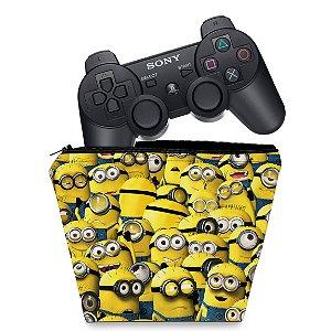 Capa PS3 Controle Case - Minions