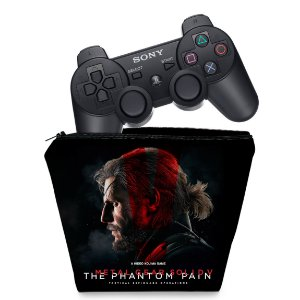 Capa PS3 Controle Case - Metal Gear Solid 5