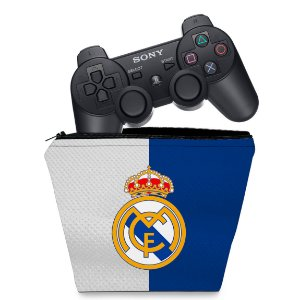 Capa PS3 Controle Case - Real Madrid