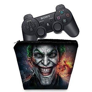 Capa PS3 Controle Case - Coringa Joker