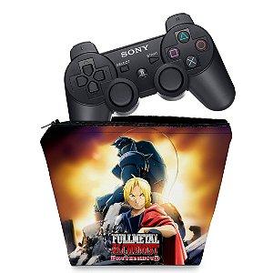 Capa PS3 Controle Case - Fullmetal Alchemist