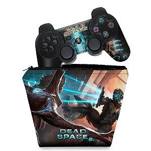 KIT Capa Case e Skin PS3 Controle - Dead Space 2