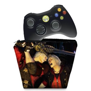 Capa Xbox 360 Controle Case - Devil May Cry 4