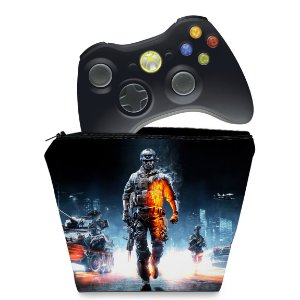 Capa Xbox 360 Controle Case - Battlefield 3