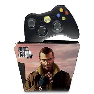 Capa Xbox 360 Controle Case - Gta Iv