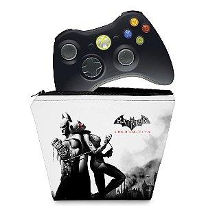 Capa Xbox 360 Controle Case - Batman Arkham City