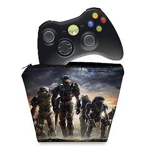 Capa Xbox 360 Controle Case - Halo Anniversary