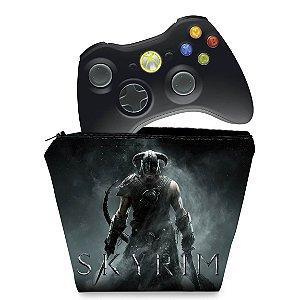 Capa Xbox 360 Controle Case - Skyrim