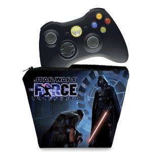 Capa Xbox 360 Controle Case - Star Wars The Force