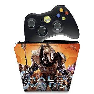 Capa Xbox 360 Controle Case - Halo Wars