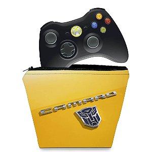 Capa Xbox 360 Controle Case - Transformers Camaro