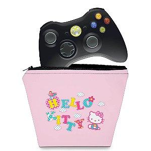 Capa Xbox 360 Controle Case - Hello Kitty