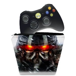 Capa Xbox 360 Controle Case - Killzone 3