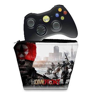 Capa Xbox 360 Controle Case - Homefront