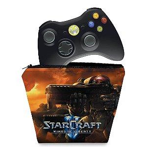 Capa Xbox 360 Controle Case - Starcraft 2