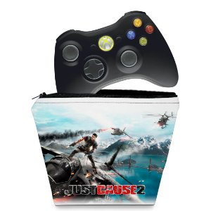 Capa Xbox 360 Controle Case - Just Cause 2