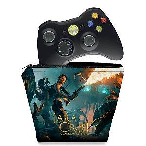 Capa Xbox 360 Controle Case - Lara Croft Temple Osiris