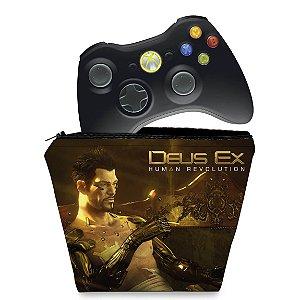 Capa Xbox 360 Controle Case - Deus Ex