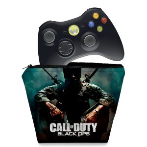 Capa Xbox 360 Controle Case - Call Of Duty Black Ops