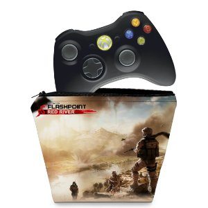 Capa Xbox 360 Controle Case - Operation Flashpoint