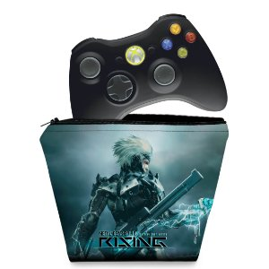 Capa Xbox 360 Controle Case - Metal Gear Solid Rising
