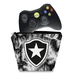 Capa Xbox 360 Controle Case - Botafogo
