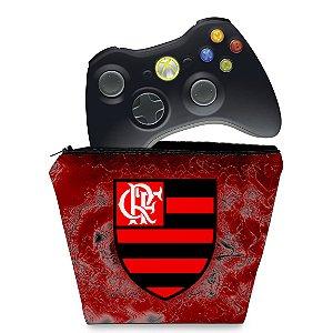 Capa Xbox 360 Controle Case - Flamengo