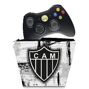 Capa Xbox 360 Controle Case - Atletico Mineiro