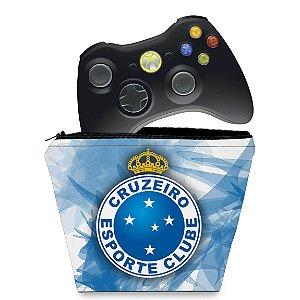 Capa Xbox 360 Controle Case - Cruzeiro